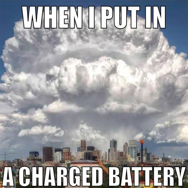 charged ecig battery meme