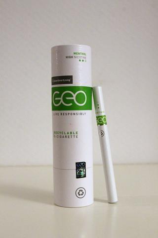 Geo Recyclable E-Cigarette review