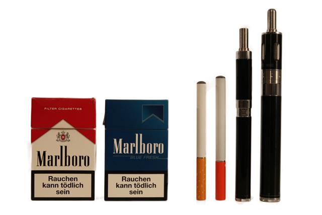 Electronic Cigarettes vs. Real Cigarettes