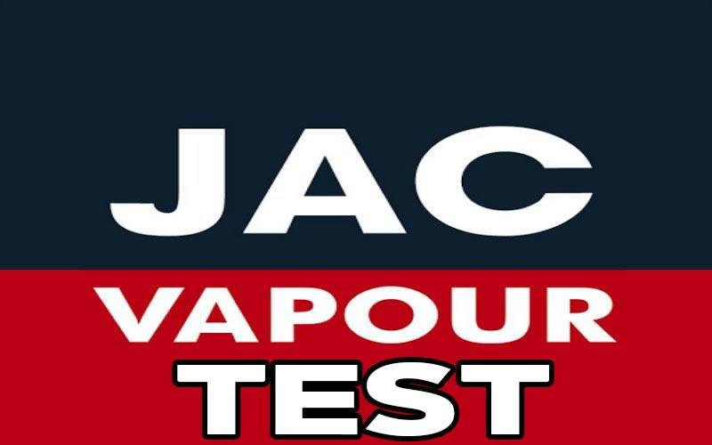 JAC Vapour Test