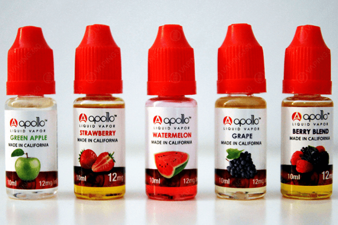 Apollo E-liquid Bottles