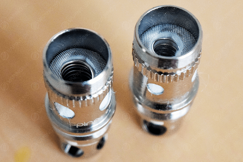 Aspire Atlantis V2 0.3 vs. Aspire Atlantis V1 0.5 Coil