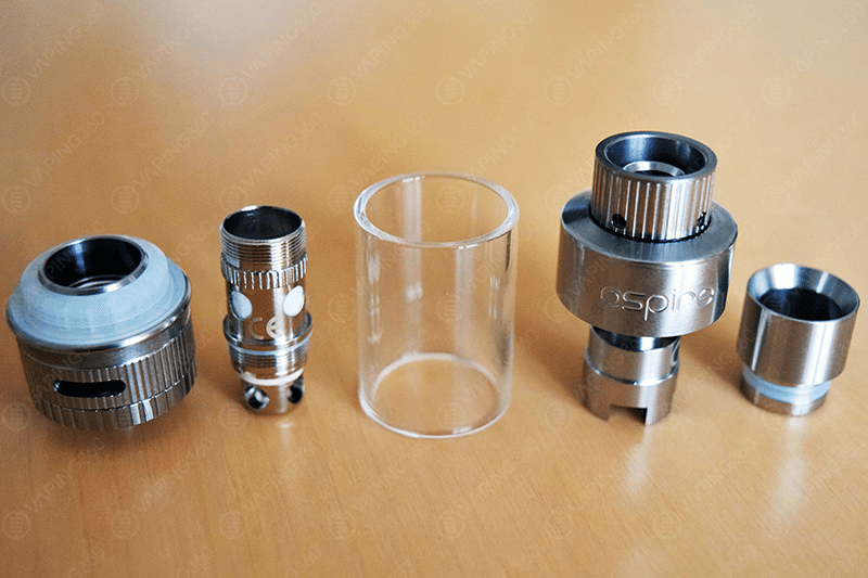 Aspire Atlantis V2 Disassembled