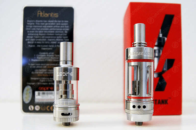 Aspire Atlantis vs Kanger Subtank