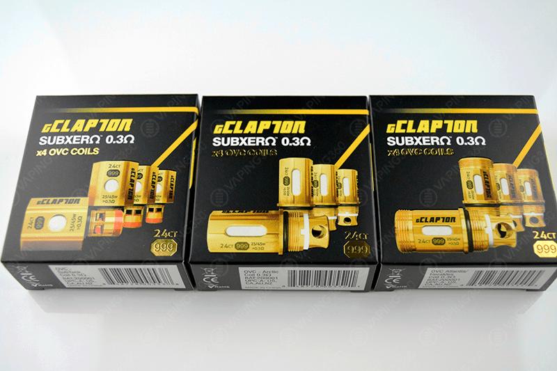 Atomvapes gClapton Coils Variations (Kanger, Horizontech, Aspire)