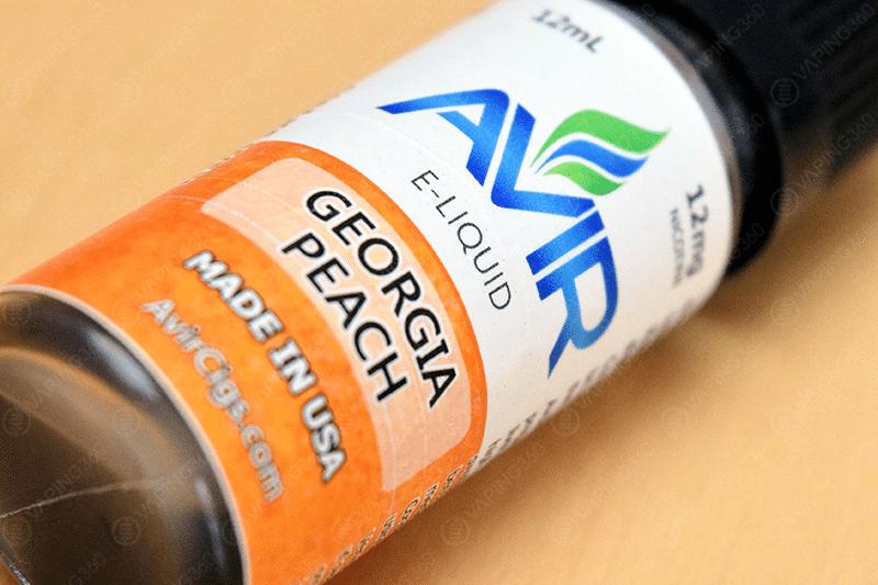 Avir Vape E-Liquid Georgia Peach