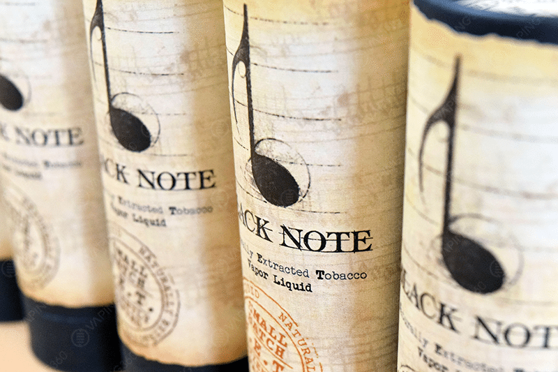 Black Note E-Liquid Packaging