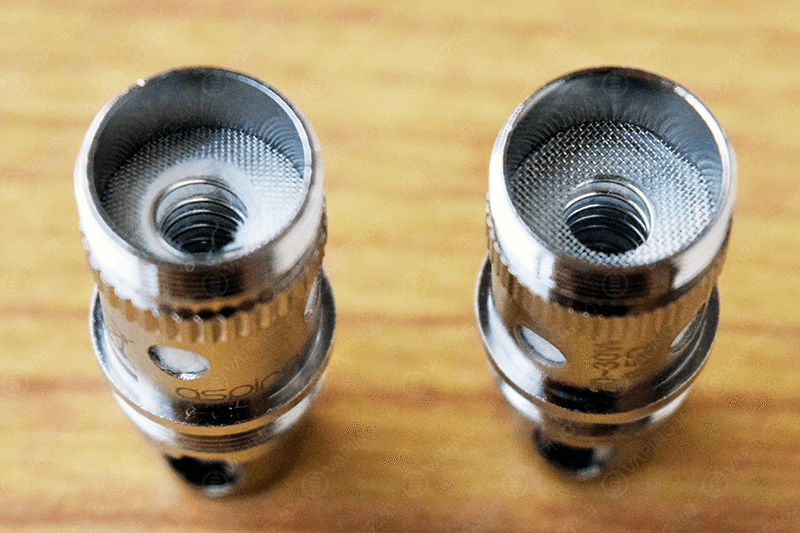 Eleaf Melo Aspire Coil vs Melo Coil