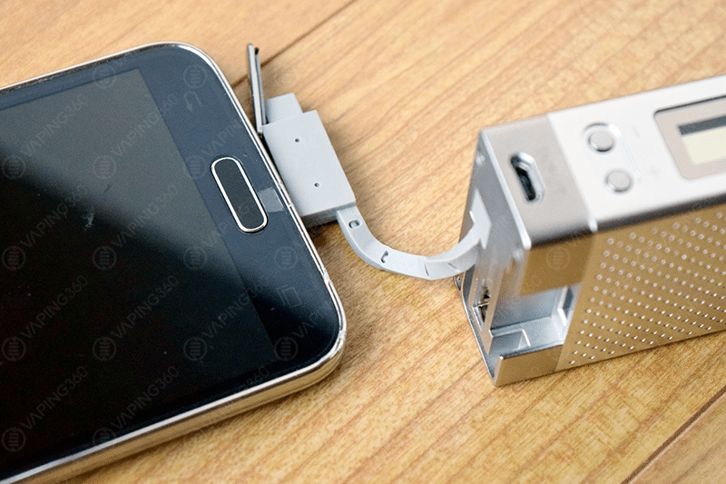 Innokin iTaste MVP 3.0 Mirco USB Charging