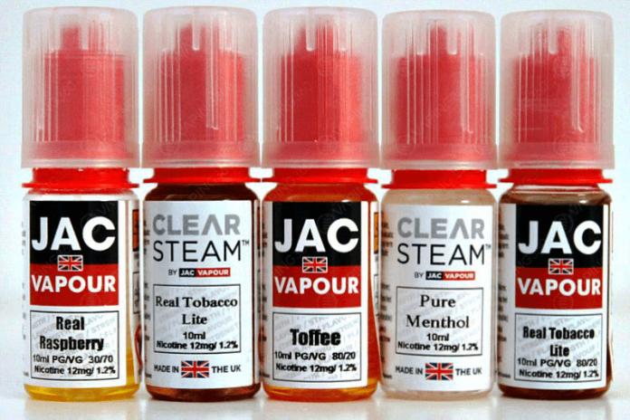 JAC Vapour All E-Liquids Line