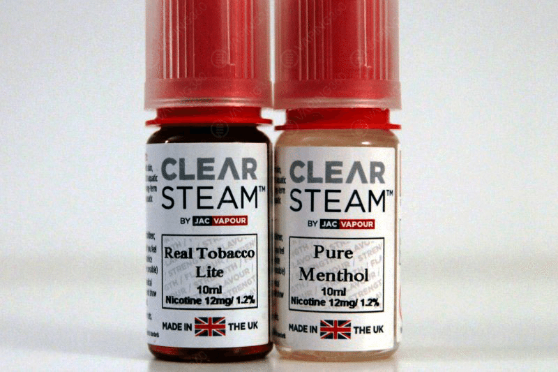 Jac Vapour E-Liquid Clear Steam Line