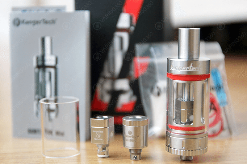 Kanger Subtank Mini Kit Content
