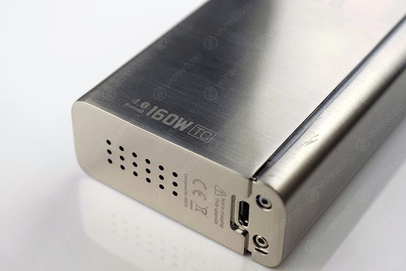 SMOK xCube II Vent Holes/Micro USB Port