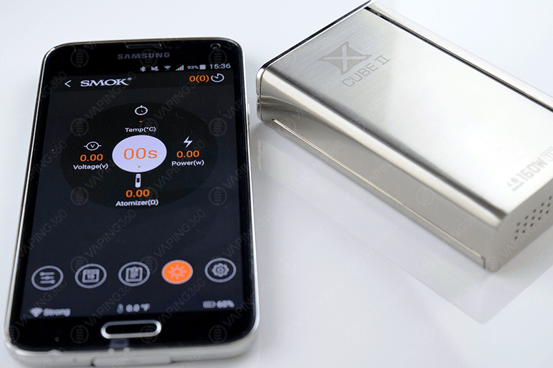 SMOK xCube II BT App