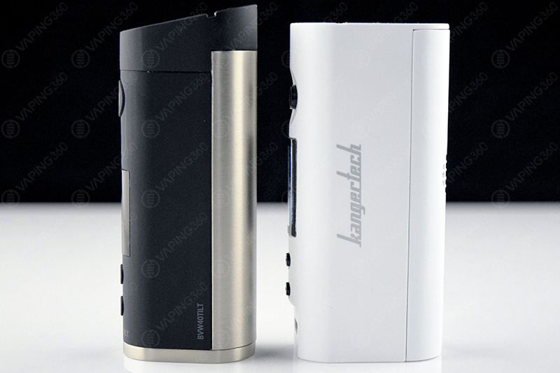 JAC Vapour Series-B Tilt next to KBOX Mini