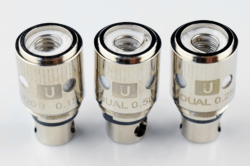 Uwell Crown Ni200 (0.15), Dual (0.5) and Dual (0.25) Coil