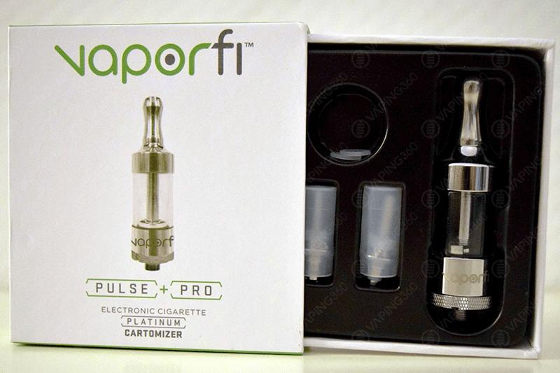 Vaporfi Platinum Pro Tank Packaging