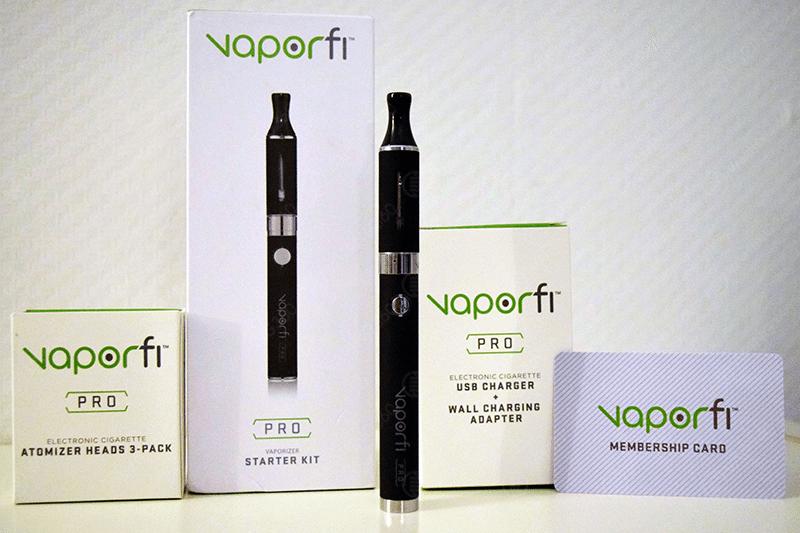 Vaporfi Pro Kit Content