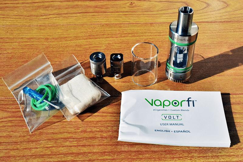 Vaporfi Volt Kit Content