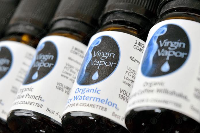 Virgin Vapor E-Liquid