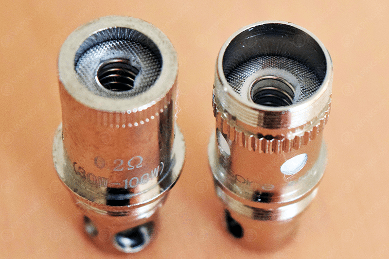 Vision MK 0.2 vs Aspire Atlantis 0.5 Coil