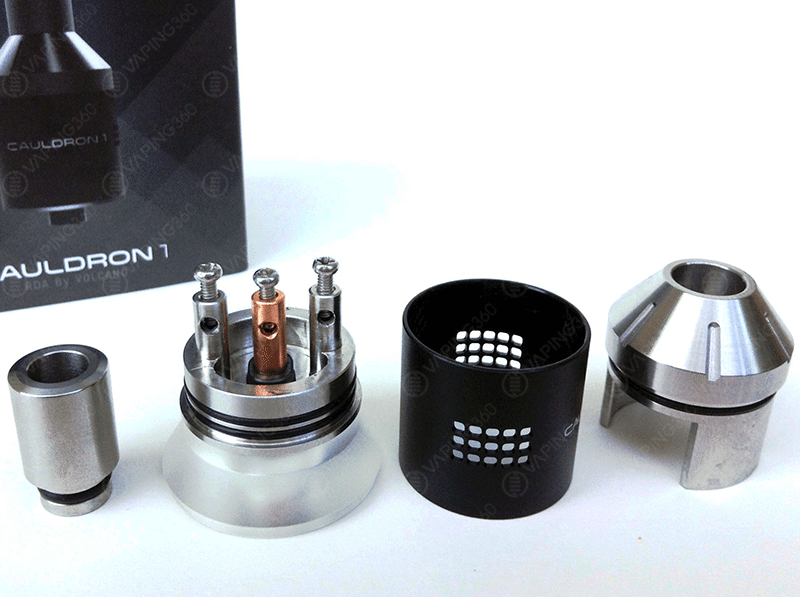 Volcano Cauldron RDA Disassembled