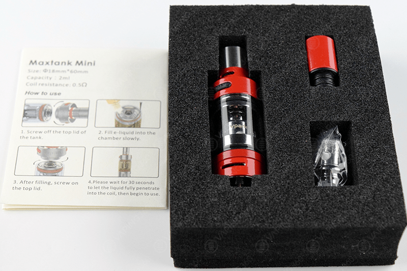 Vpark Maxtank Mini Package Content