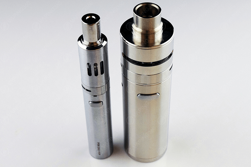 Wimec Venti next to the Joyetech eGo One Mini