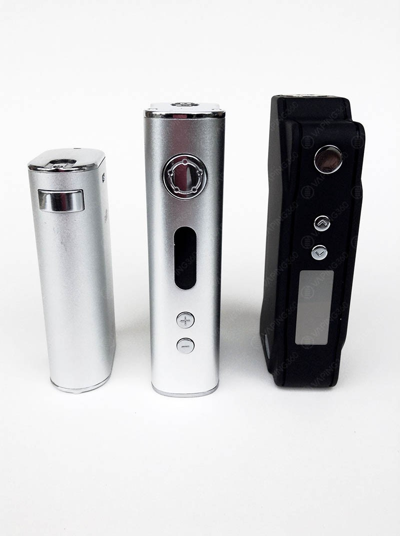 Eleaf iStick 50W/100W and the Sigelei 150W TC