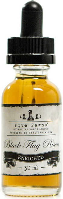 Five Pawns Black Flag Risen Enriched E-Liquid
