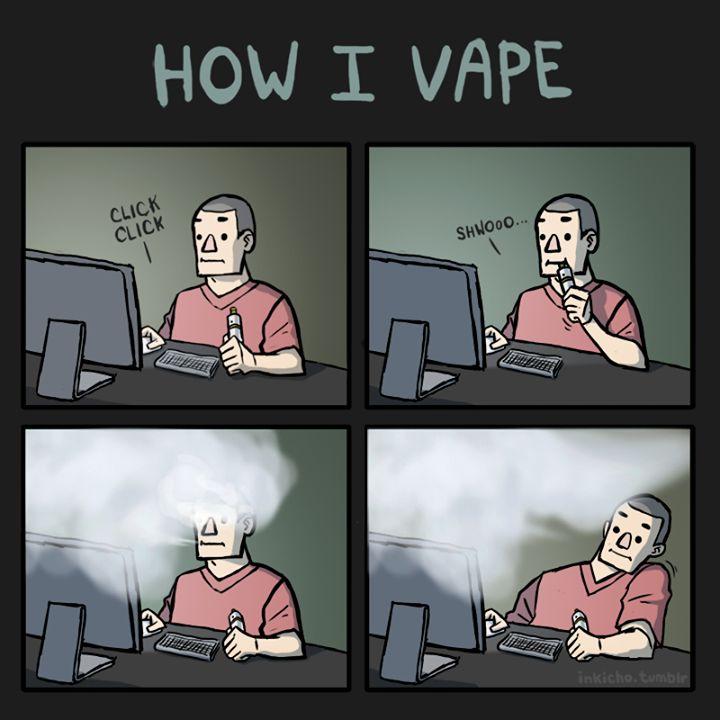 How I Vape Meme