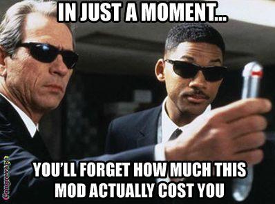 Men in Black Vape Meme