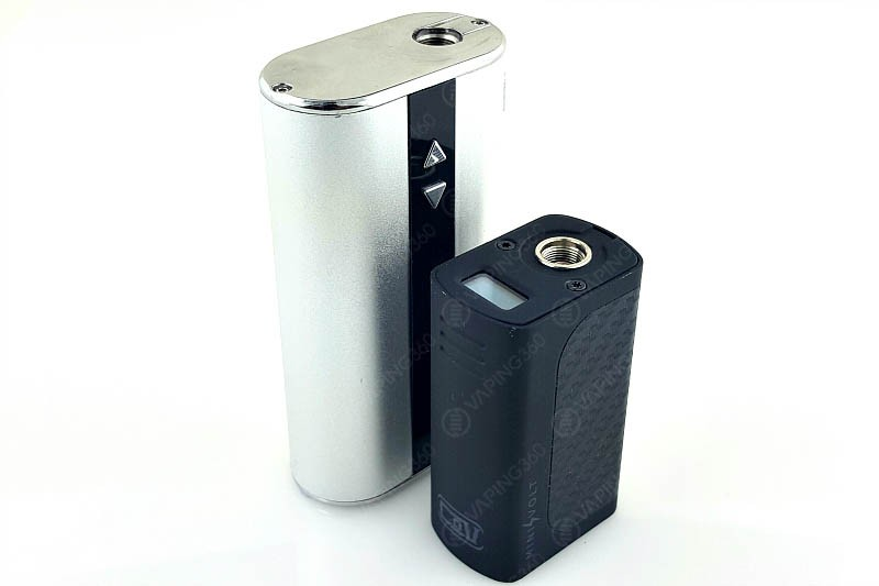Mini Volt Size Comparison iStick 50W
