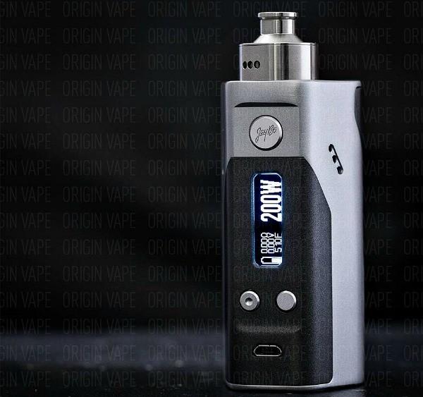 Origin Vape Wismec-JayBo Reuleaux DNA-200