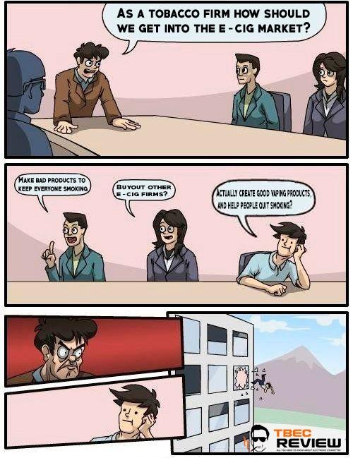 Tobacco Boardroom Suggestion Meme