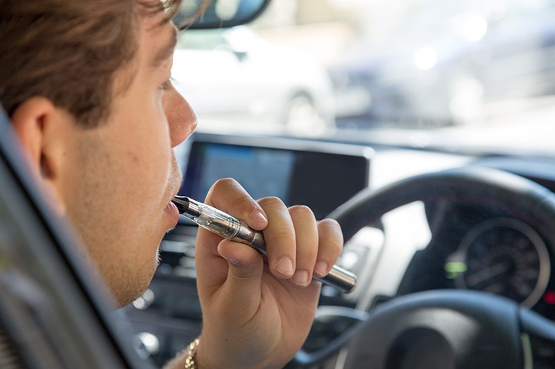 Vaping Whilst Driving