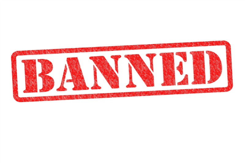 Vaping Products Banned
