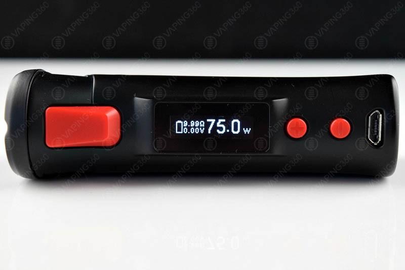 Vaporesso Target Screen/Buttons