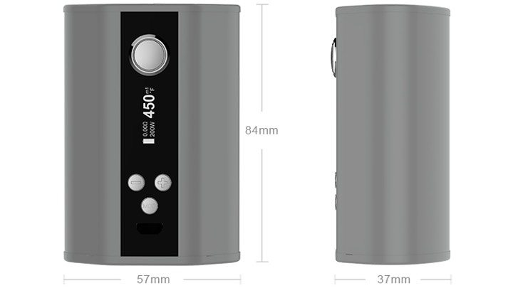 Elead iStick TC200W Dimensions