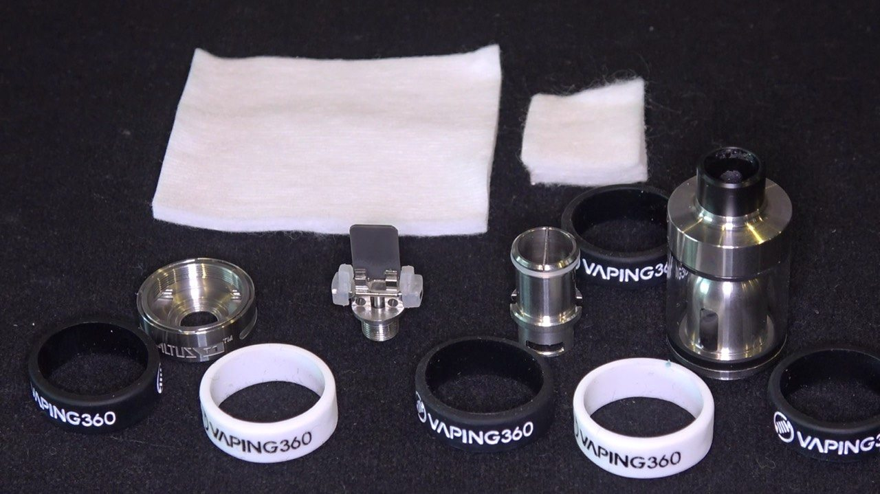 Guo Vape Altus T1 Disassembled
