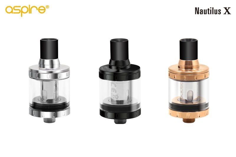 Aspire Nautilus X Colors