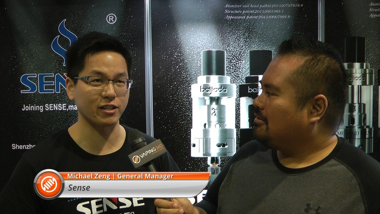 Sense general manager Michael Zeng