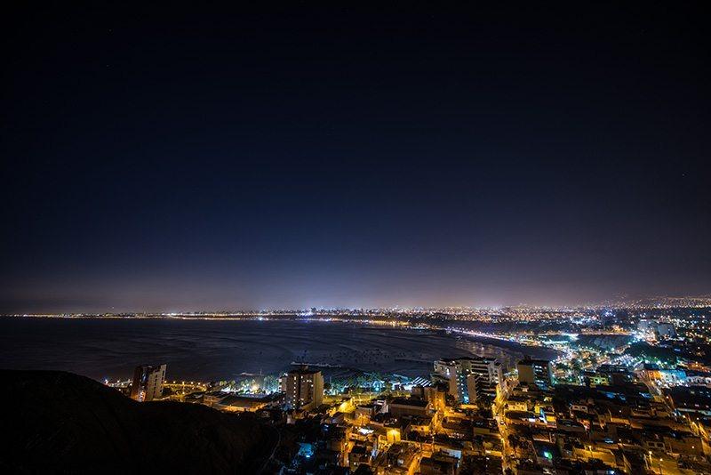 A Billion Lives - Lima Peru (Headline on sky)