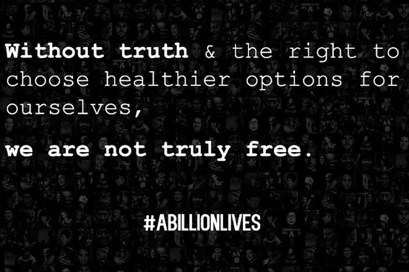 A Billion Lives Quote