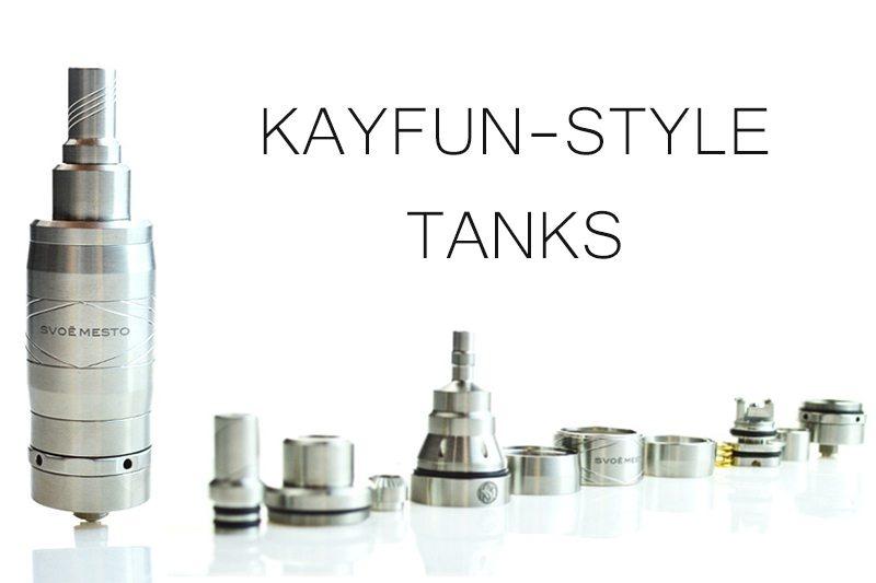 Kayfun-Style Tanks