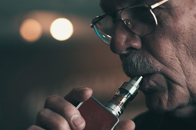 Smokers Use Vapor Technology to Quit