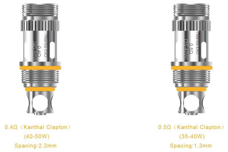 Aspire EVO75 Starter Kit Coils