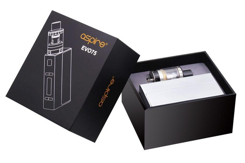 Aspire EVO75 Starter Kit Packaging