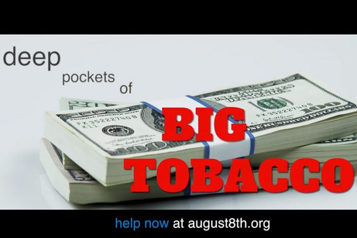Big Tobacco Deep Pockets