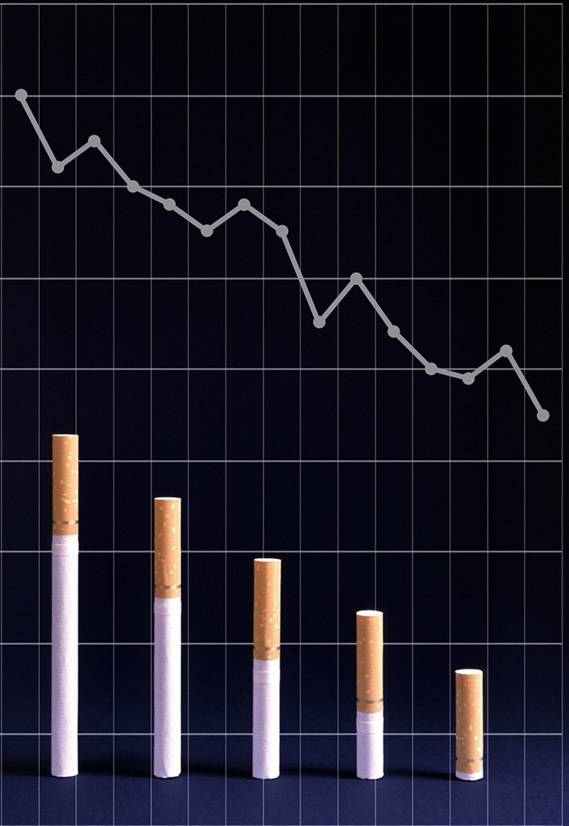 Cigarette Smoking Decline